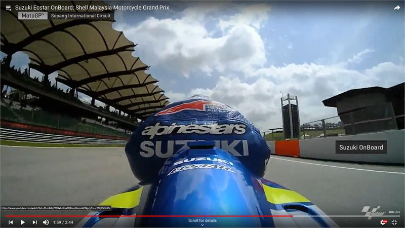 Sepang Onboard - Alex Rins-3
