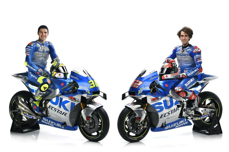 2020 SUZUKI ECSTAR Launch- JOAN MIR-ALEX RINS-13
