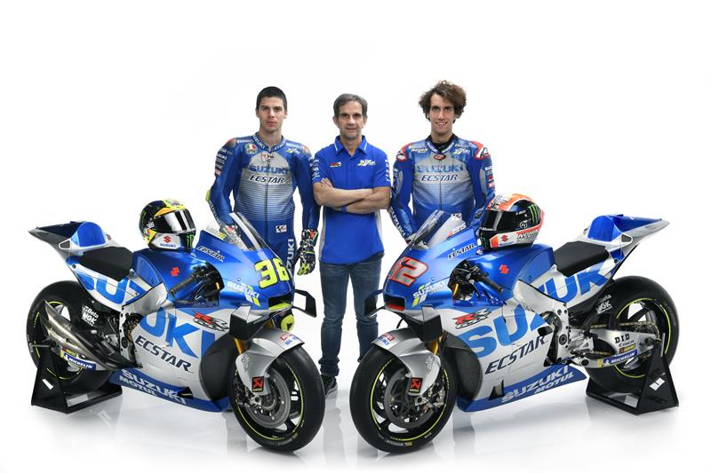 2020 SUZUKI ECSTAR Launch - Team-bikes-2