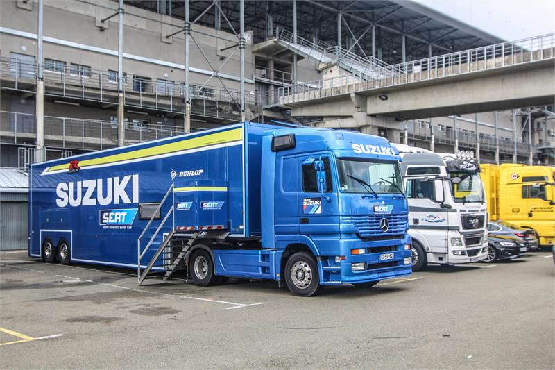 EWC 2020-Le Mans Test - March 5 - SERT Transporter-1