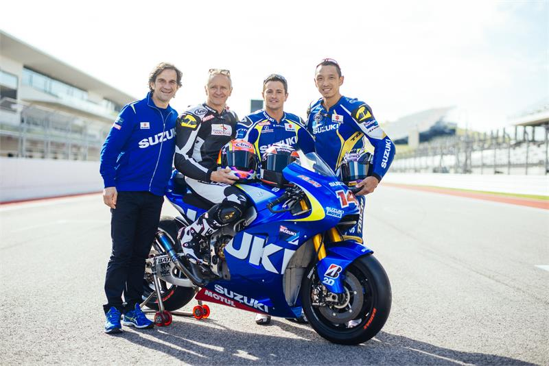 2014 Suzuki MotoGP test in Austin