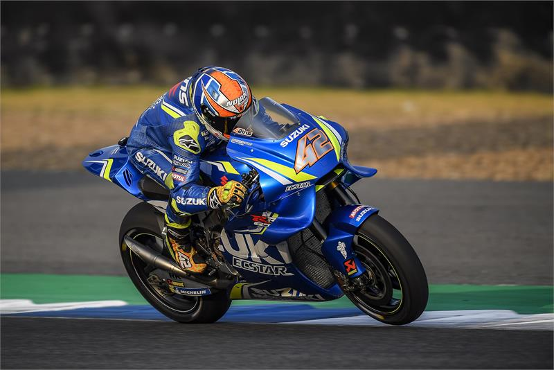 Buriram Test - Alex Rins-8