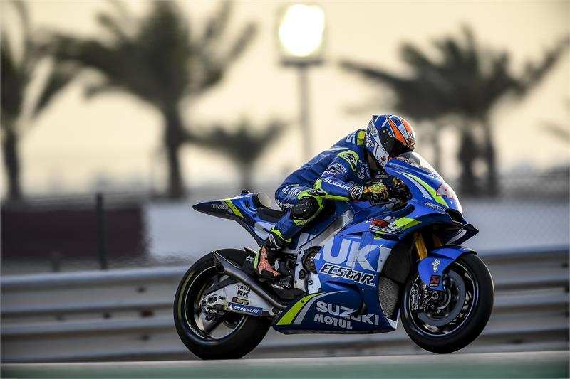Qatar Test - Alex Rins-4