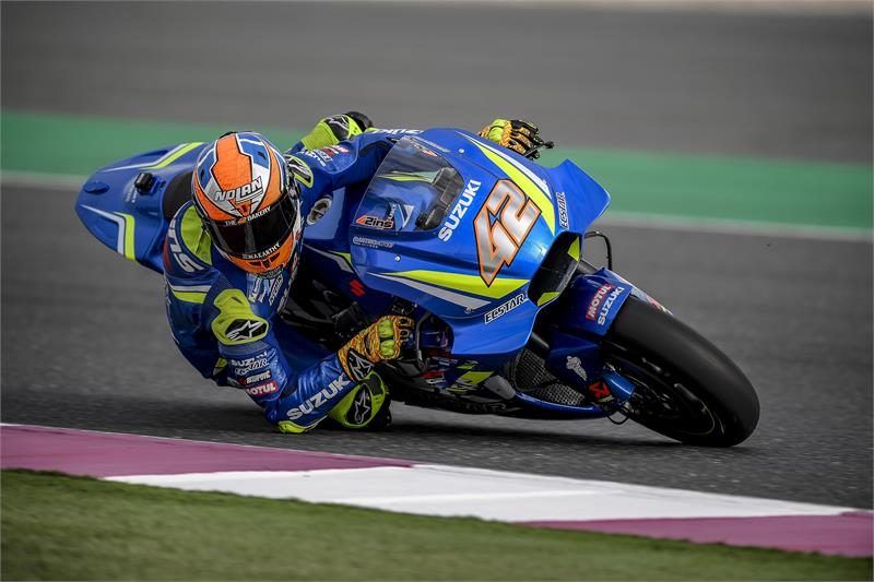 Qatar Test - Alex Rins-D2-13