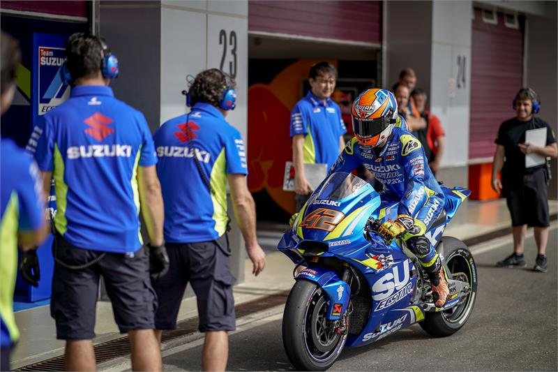 Qatar Test - Alex Rins-D2-10