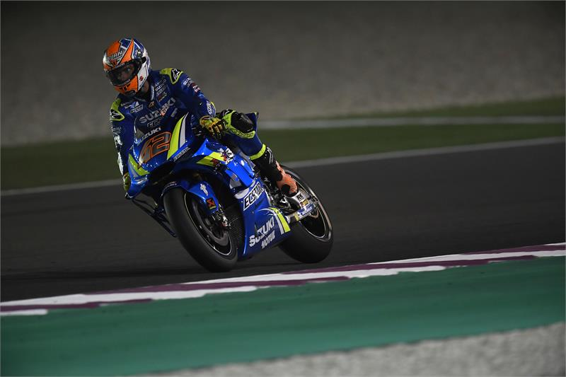 Qatar Test - Alex Rins-D2-7