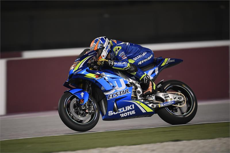 Qatar Test - Alex Rins-D2-4
