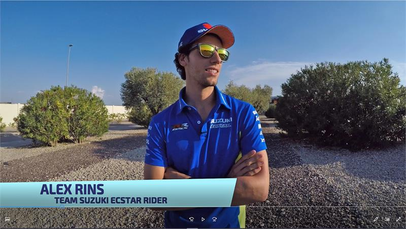 Alex Rins - Aragon Preview