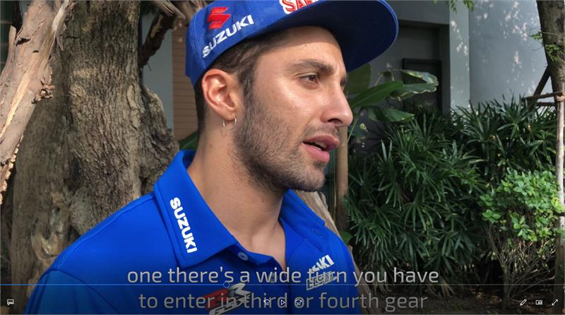 Iannone-Thailand Video preview