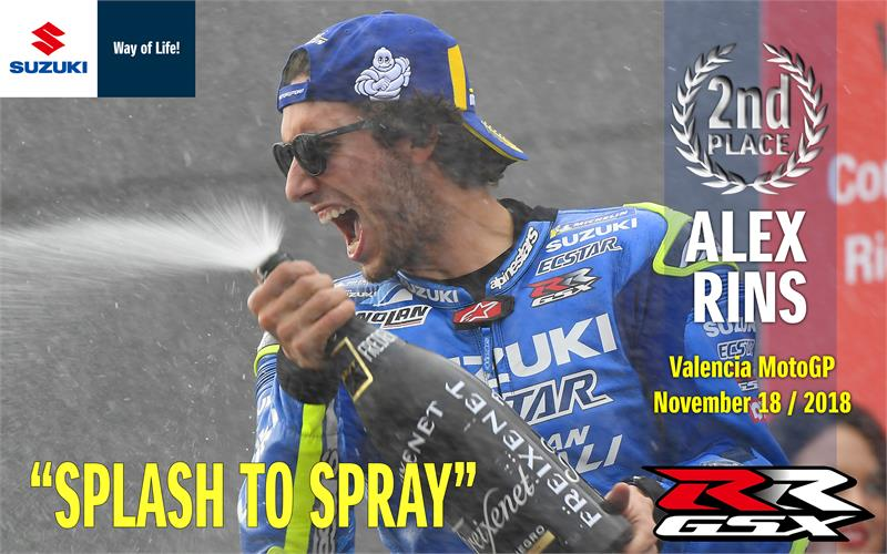 Alex Rins Wallpaper - Valencia - 2nd place