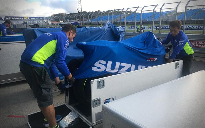 Sepang Testing Feature-PACKING