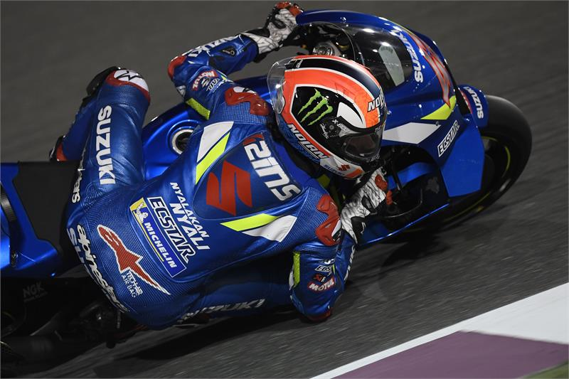 2019 Testing-Qatar-Feb23-25-Alex Rins-22