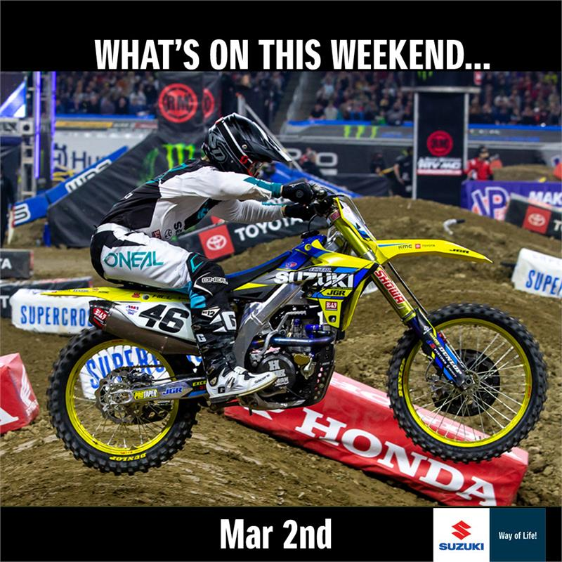 Weekend Action - March 2